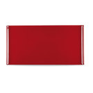 Buffet Tray Rectangular Melamine Red 53x32.5cm
