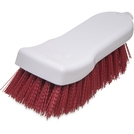 Cutting Board Brush 6in Red