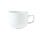 Bianco Cup White Stackable 8.5cl
