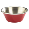 1.5oz Stainless Steel Ramekin Red