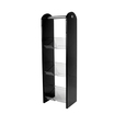 3 Tier Condiment Stand Acrylic Black