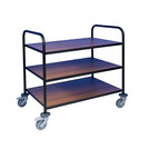 Trolley With Laminate Shelves 3 Tier