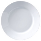 Superwhite Deep Winged Plate 28cm