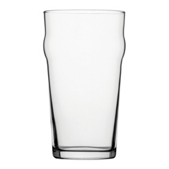 Nonic Beer/Lager Glass 10 CE Stamped