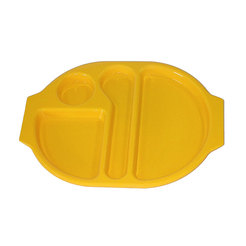 Meal Tray Yellow 38 x 28cm Polycarbonate