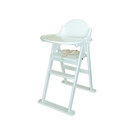 East Coast Wooden Folding High Chair White