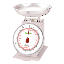 Prepara Scale with Stainless Steel Bowl 2kg