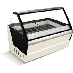 Crystal Optimus 16 Ice Cream Display 630 Ltr