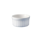 Cookware Ramekins Oval White Stackable 7cm