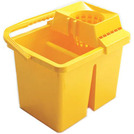 Mop Bucket & Wringer Yellow 15ltr