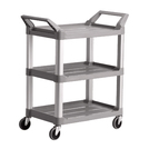 Trust 3 Tier Utility Trolley White