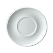 Compact Saucer B8586 White 12.7cm