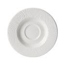 Optik Saucer 11.75cm White