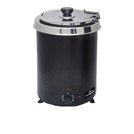 Chefmaster 6ltr Soup Kettle Black