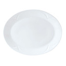 Bianco Plate Oval White 28cm