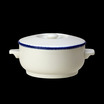 Blue Dapple Soup Bowl Base 42.5cl
