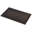 Placemat Dark Wood Effect 45 x 30cm