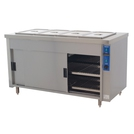Premier HB4E Mobile Bain Marie Top Eco Hot Cupboard