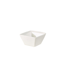 Royal Genware Fine China Square Bowl 13cm White