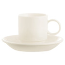 Daring Cup White Stackable 9cl
