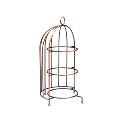 Birdcage Plate Stand 17.5 x 8.75 (44 x 22cm)