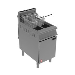 Dominator Plus G3845F Gas Fryer 2Pan 2Basket w.Filt