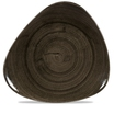 Stonecast Patina Iron Black Lotus Plate 31.1cm