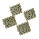 Tent Table Numbers 21 To 40 5x4cm