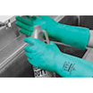 Polyco Green Nitri-Tech III Flock Lined Glove