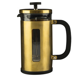 Gold Pisa Cafetiere 8 Cup