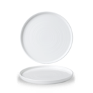 White Walled Plate 8.67 inch