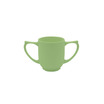 Dignity 2 Handled Mug Green Ceramic 25cl
