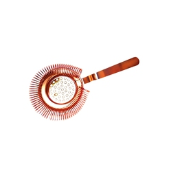 Copper Plated Bar Strainer