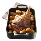 Belle Cuisine Roaster Oblong Black 34cm 3.5ltr