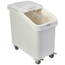 Polypropylene Mobile Ingredient Bin with Scoop 102L