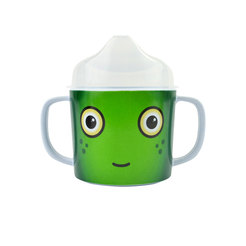 Nettle the Monster Melamine Double Handle Cup 0.2L