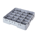 Cambro Camrack Cup Rack 20 Compartments Grey