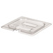 Gastronorm Notched Lid Polycarbonate 1/3 Clear
