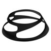Black Polycarbonate Twist Riser 50mm 2 in