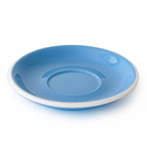 Acme Blue 155mm Circular Latte Saucer