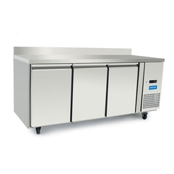 Arctica HD Refrigerated Prep Counter w.Upstand 3 Dr