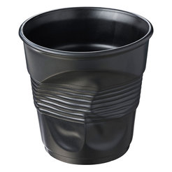Crumple Cup Champagne / Ice Bucket 300cl Black