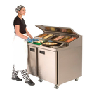 Foster Mobile Refrigerated Prep Counter 3 Door