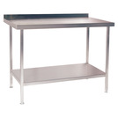Stainless Steel Wall Table 600mm Long