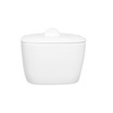 Alchemy White Bowl Square C/W Lid 13.6cm 61.9cl