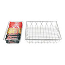 Display Basket Chrome Oblong 35 x 30 x 5cm
