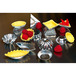 Petits Fours Moulds Set of 50 Tin Plate