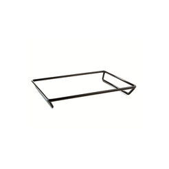 Rubber Coated Steel Square Stand 20 x 20 x 2 inch