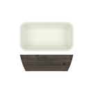 New Haven Oak/White Melamine 1/3 DeepDish