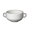 Spyro Handled Soup Cup White Stackable 28.5cl
